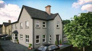 Artist's impressions of Western Homes' new houses in Dungannon