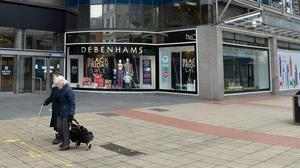 Debenhams in Belfast which will close its doors this weekend. Credit: Stephen Hamilton