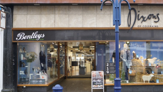 Dixons of Coleraine is a four-storey site and covers 15,000 sq ft