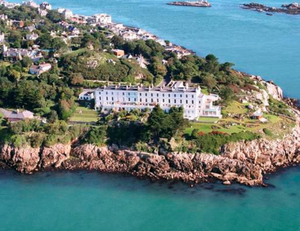Dalkey, Co Dublin, where she has made her home