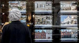 The average house price in Northern Ireland has grown by 2.4% to £143,205 over the last year, according to a government report (stock image)