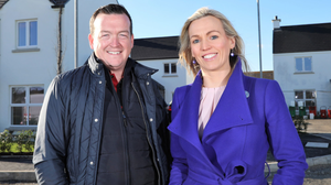 Philip Polly, Director of KAP Properties and Paula Owens, business manager at Danske Bank