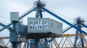 The Port of Belfast has not experienced the sort of chaos prevalent in other parts of the UK. Credit: Liam McBurney/PA