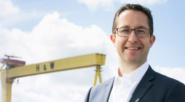 Alan Foreman, chief executive of B-Secur, said he chose Belfast for the firm's base because of the talent pool available