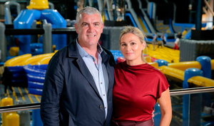 Gareth and Lorna Murphy operate two Belfast adventure centres
