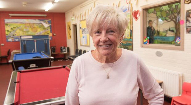 Positive impact: Jeanette Warke MBE at the Cathedral Youth Club in the Fountain estate, Londonderry