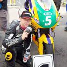 Jamie Hodson was killed at Dundrod last night