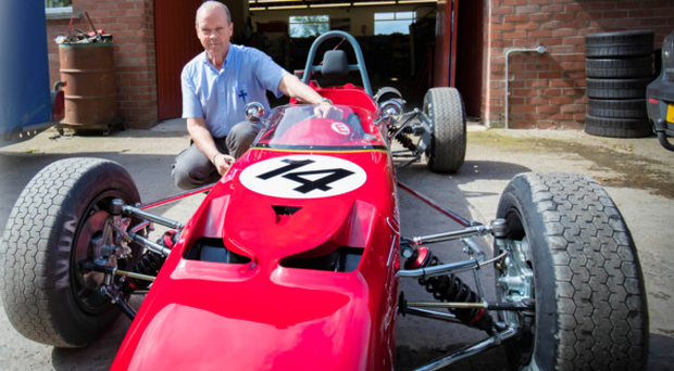 Dream car: Paul McMorran of Crossle Cars