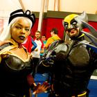 The Eikon centre hosted the MCM ComicCon event in June featuring Liyah and Stevie Lavery as Storm and Wolverine