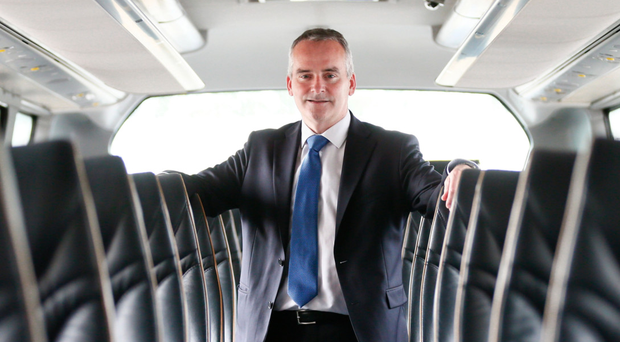 Translink chief executive Chris Conway