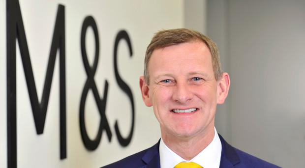 Marks & Spencer chief executive Steve Rowe
