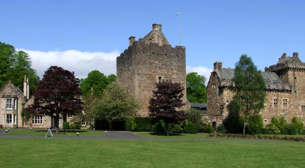 Dean Castle in Scotland