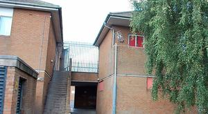 The one bedroom, first floor flat in Craigavon has double glazing and Economy 7 central heating