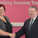 Dr Joanne Stuart is handing over the reins as chairman of Arts & Business to Martin Bradley