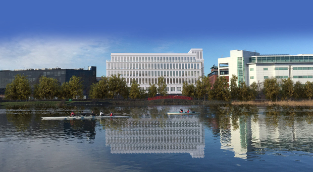 The proposed Cromac Quay office development