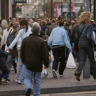 Footfall in Northern Ireland's high streets, shopping centres and retail parks is heavily down, while the number of empty shops is on the rise