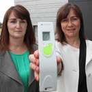 Dr Roisin Molloy (left and below) and Julie Brien (right) of TriMedika