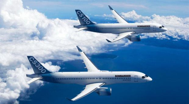 Bombardier inks $1.1 billion deal with Egypt Air for C-Series jets