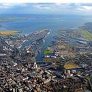 Belfast Harbour dealt with two-thirds of the total sea trade in Northern Ireland last year and saw turnover rise 7%
