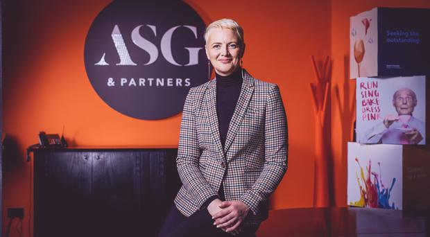 Valerie Ludlow, ASG's new chief executive