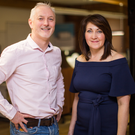 Kevin Donaghy, CEO and Susan Fitzsimmons, Chief Operating Officer of Audit Comply at their office in Belfast