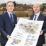 Stephen Fisher, CEO at Rural Housing Association (left), and Chris Martin, the head of social housing at Danske Bank