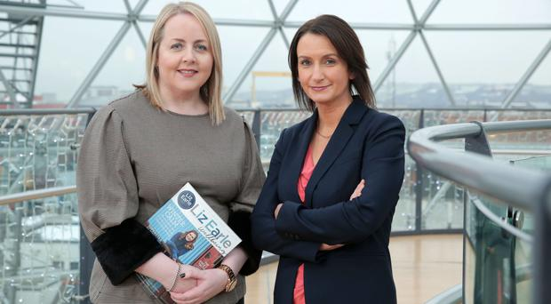 IoD national director Kirsty McManus joined Catriona Gibson, managing partner of law firm Arthur Cox, to launch March's event