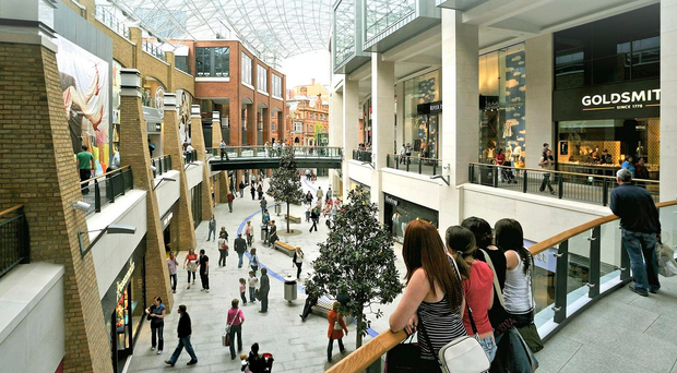 Belfast is growing slower than other UK cities despite spots such as Victoria Square booming