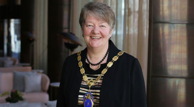 Ellvena Graham, president of the NI Chamber of Commerce and Industry, has urged MLAs to get back to power-sharing