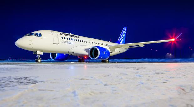 Bombardier's C Series jet has been at the centre of the trade dispute