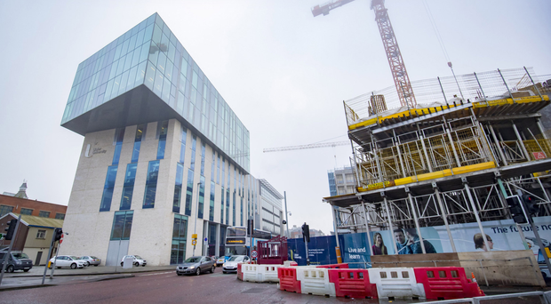 Two of the companies contracted to build the campus have told Ulster University that work is likely take until 2022, three years past the original target