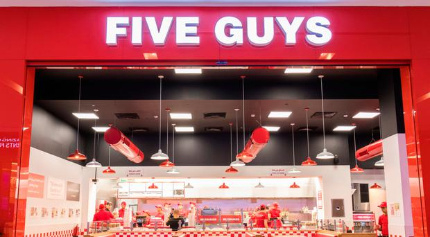 Burger chain: Five Guys