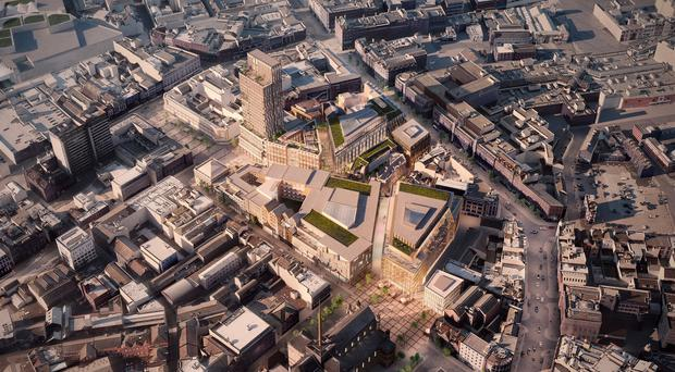 What Royal Exchange could look like when completed
