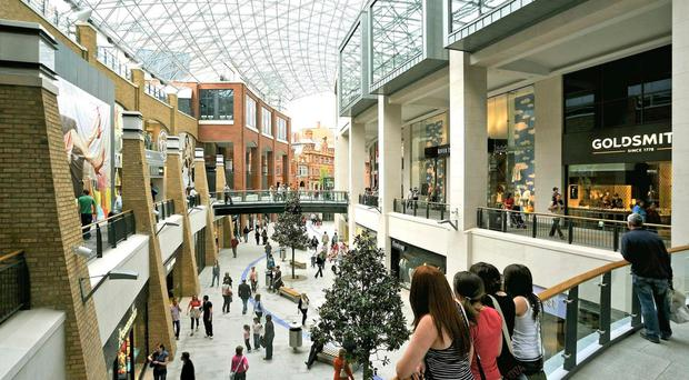 A raft of big name retailers have pulled down the shutters at Victoria Square shopping centre