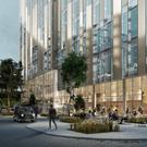 An artist's impressions of the planned office building at the Sirocco Works in Belfast © ELEMENT