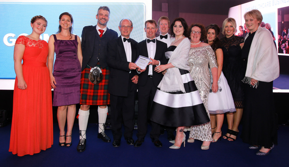 Success stories from last year's awards included (left) GCRM-Belfast, which won the SME Healthcare Business of the Year