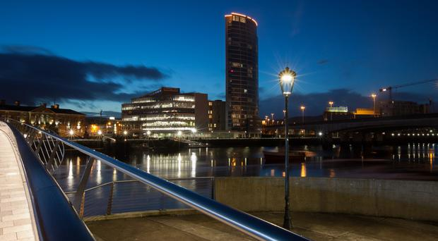 The 26 studio apartments are in the Obel Tower, Ireland's tallest building
