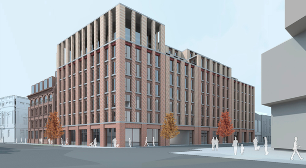 An artist's impression of how the building will look