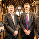 From left: Jayne Brady, partner, Kernel Capital; Dr Bob Pollard, CEO, Causeway Sensors; William McCulla, director corporate finance, Invest NI; Odhran McNeilly, business adviser, Bank of Ireland