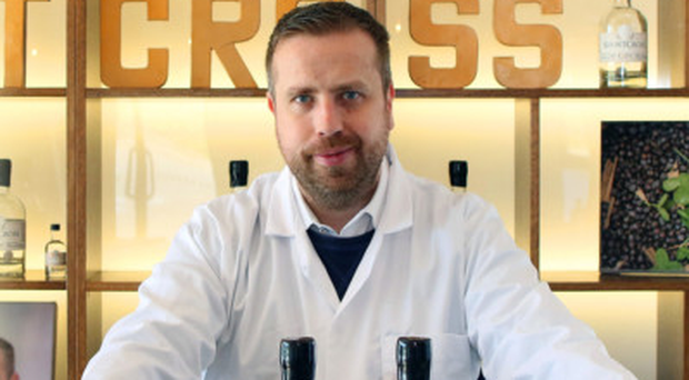 Shortcross Gin founder David Boyd-Armstrong at the distillery in Co Down