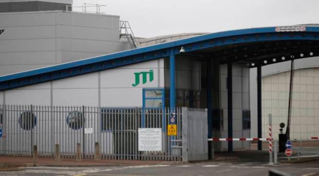 The former JTI factory in Ballymena which closed last year