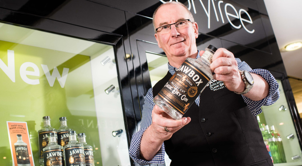 Jawbox gin founder Gerry White celebrates its latest listing