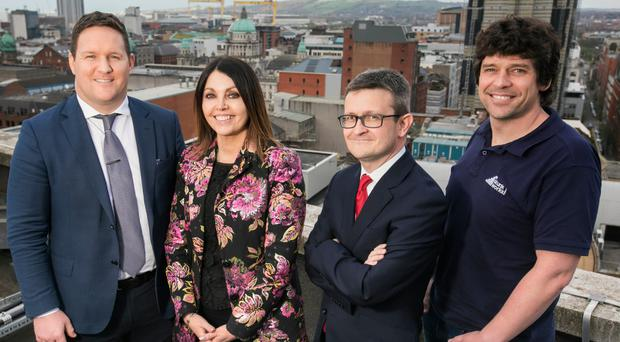 Leading and motivating great people was the theme of the day at the NI Family Business Forum this week which is a hub created by accountancy firm Harbinson Mulholland, for family firms to connect with each other, share experiences and exchange ideas. Local entrepreneurs who are involved in their own family businesses and an panel of industry experts discussed internal resilience, focussing on one of the most important resources in any business, it's people. Guest speakers included (L-R) Gareth Loye, CEO at M & M Contractors, Ricky Martin MD Skunkworks Surf Co, Darren McDowell Partner Harbinson Mulholland and Mairead Mackle Founder of ICare Charity and CEO of Homecare Independent Living. For further information on the NI Family Business Forum and future events go to https://www.harbinson-mulholland.com/family-business/ni-family-business-forum