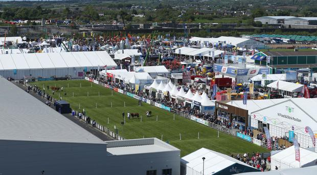 The Balmoral Show is a celebration of the agri-business sector in Northern Ireland