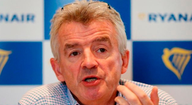 Ryanair's Michael O'Leary struck a cautious tone over prospects this year
