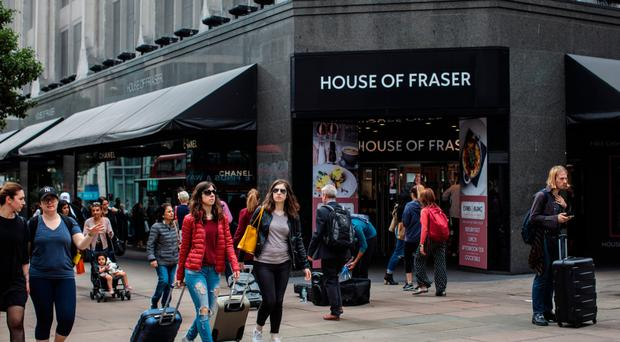 Fall of the House of Fraser: the department store has announced several closures across the United Kingdom
