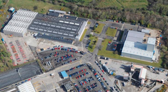 A site at Monkstown Industrial Estate has gone on the market