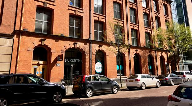 The PureGym property on Adelaide Street