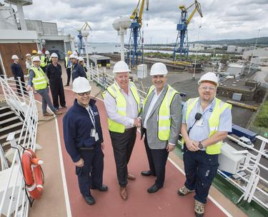 50m makeover could lead to Belfast ship building renaissance