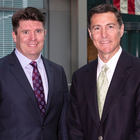 Gary Hanley, senior vice-president of the Americas, Invest Northern Ireland, and Greg Strobel, HHAeXchange chief executive officer
